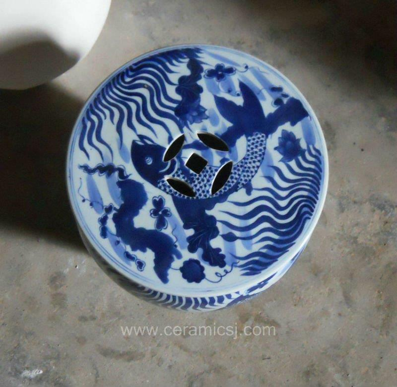 Antique Porcelain Garden Stool WRYSI01