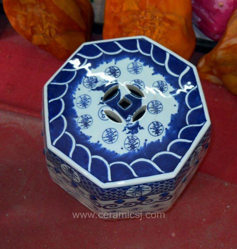 Chinese antique Ceramic garden Stool WRYSI10