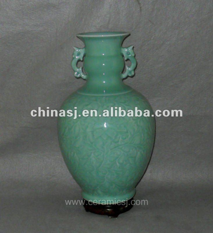 hand made celadon ceramic Vase WRYTV02