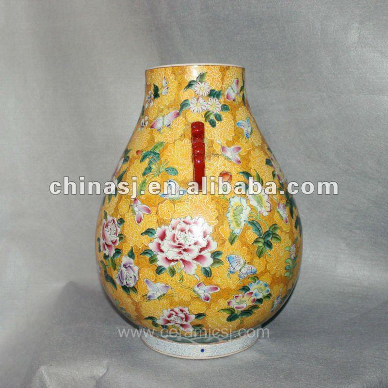 Antique hand painted Porcelain Vase RYUY05