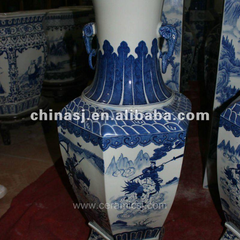 large tall ceramic flower vase RYUZ01