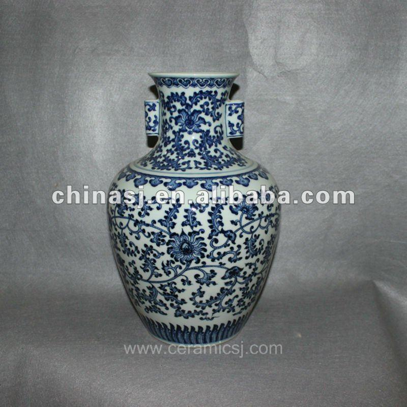 hand pained Blue and White Porcelain vase RYVD02