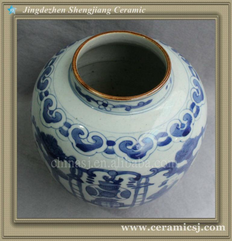 Blue And White Cheap Flower Vase Ryvw02 Jingdezhen