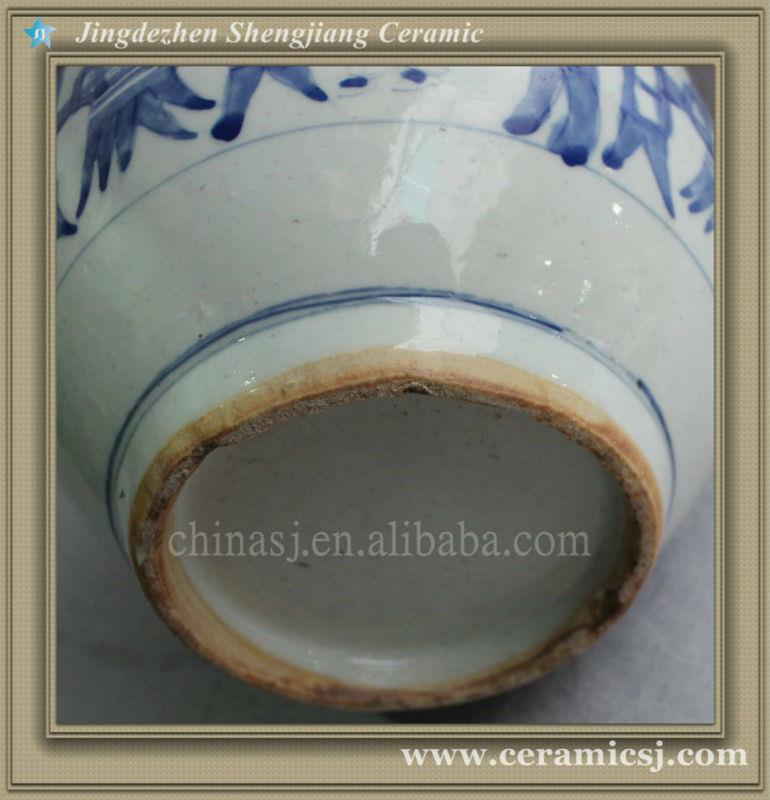 blue and white cheap flower vase RYVW02
