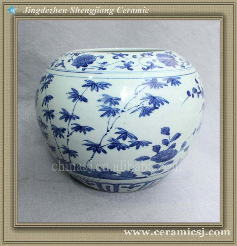 RYVW03 Chinese blue and white ceramic vase