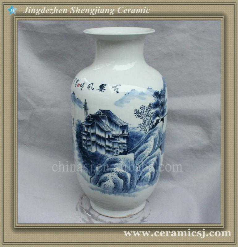 RYSV23 Asian ceramic flower cheap vase