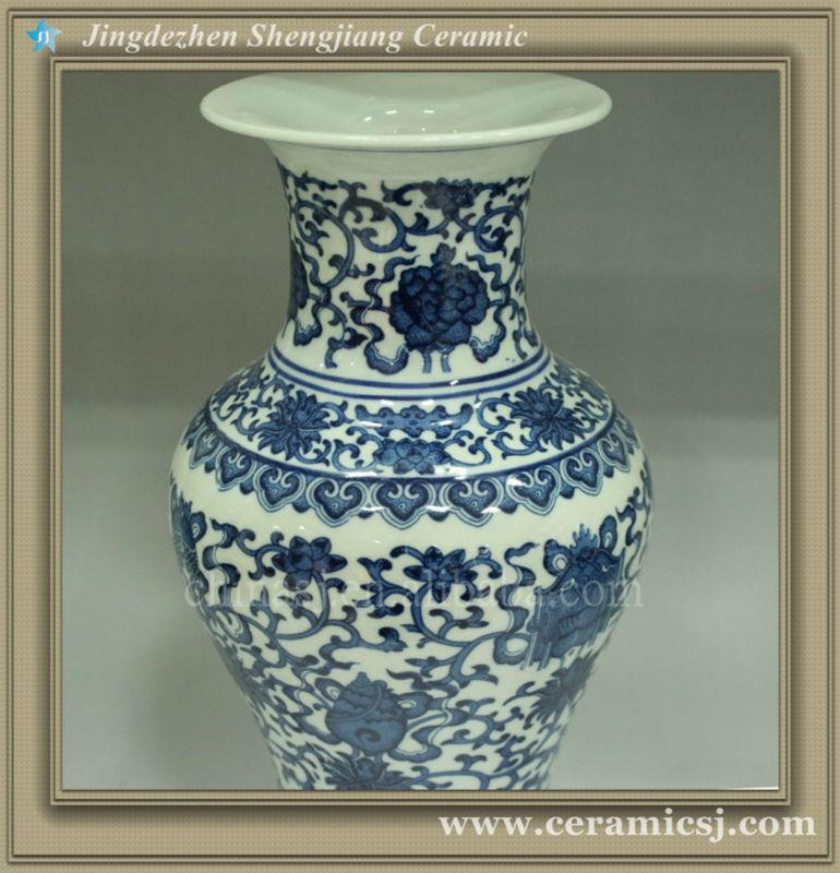 RYUJ05 chinese modern flower cheap vase
