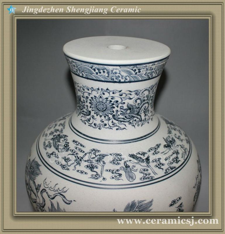 RYUJ11 Asian cheap ceramic shop vase
