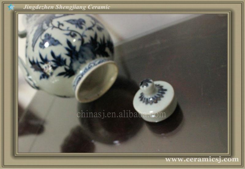 RYWB03 Yuan Dynasty Antique decorative ceramic teapot