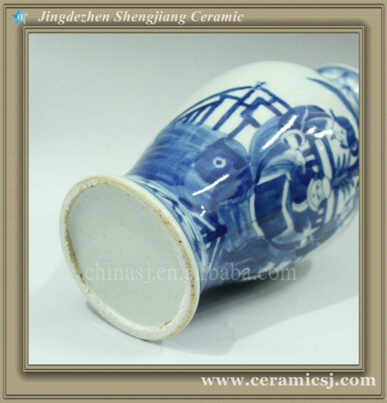 RYWK05 chinese jingdezhen ceramic cheap flower vase