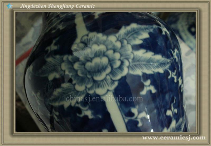 RYWD06 chinese jingdezhen ceramic vase decoration