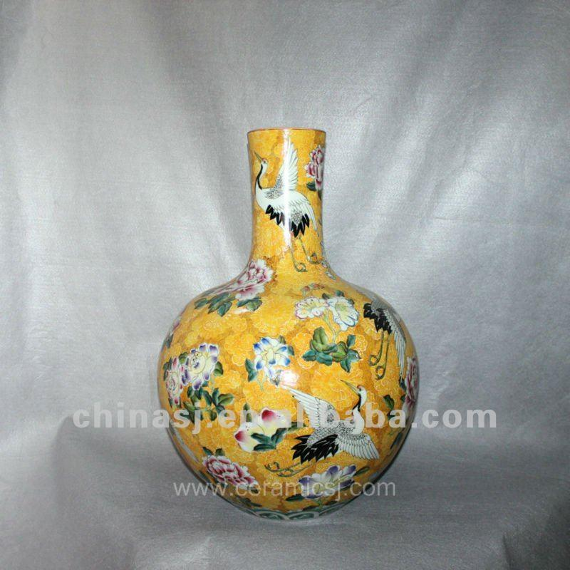 Antique chinese hand panited porcelain Vase RYUY04