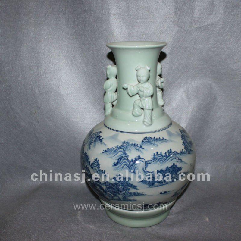 Blue and White Porcelain vase RYVF01