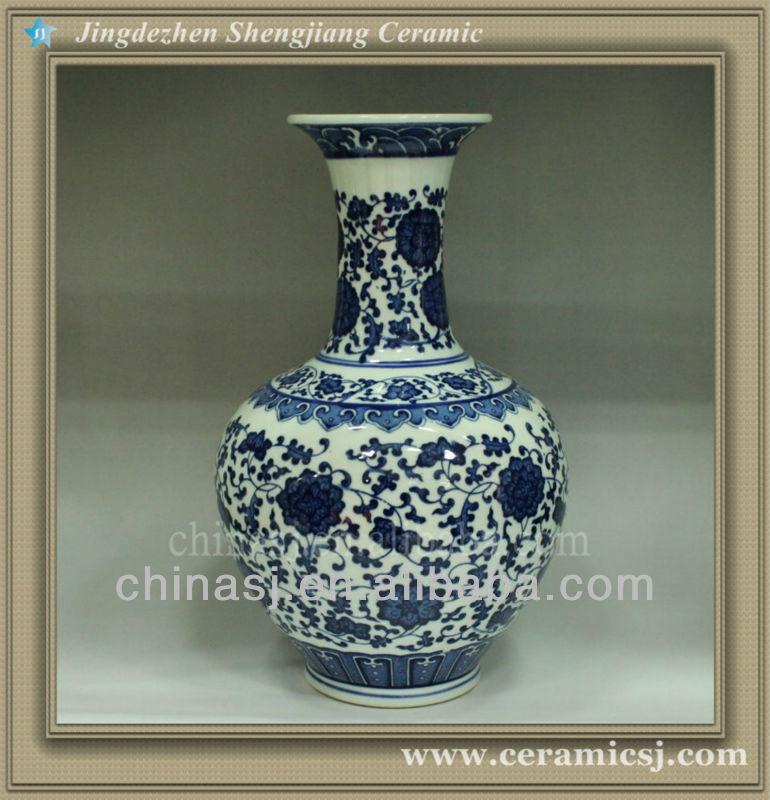 RYUJ03 Asian ceramic flower cheap vase