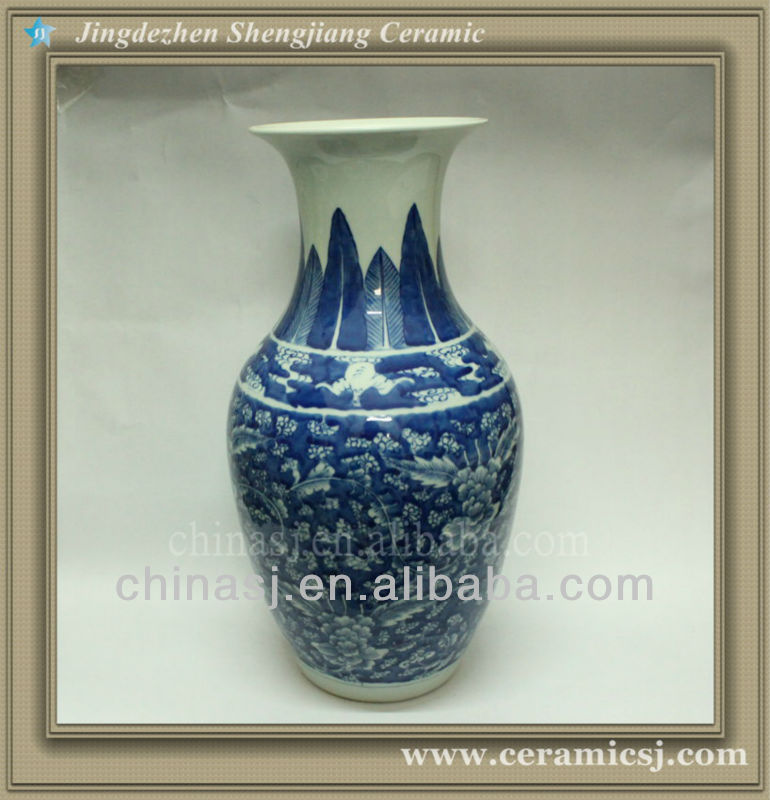 RYWD04 chinese jingdezhen ceramic vase decoration