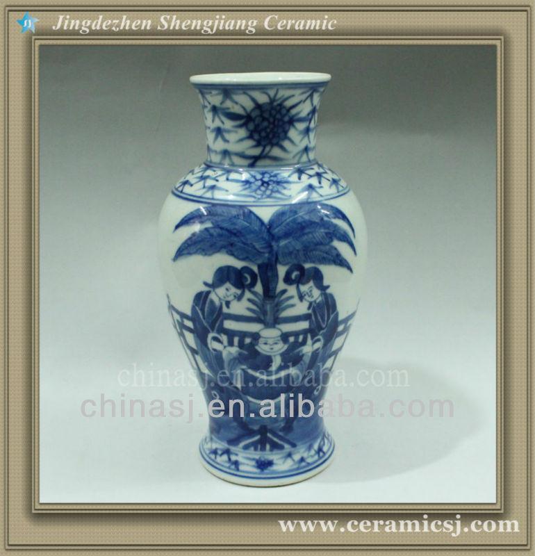 RYWK05 chinese jingdezhen ceramic cheap flower vase