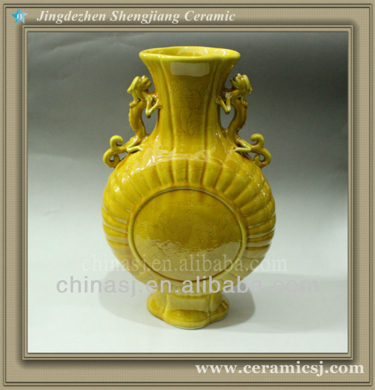 Rywn06 chinese oriental furniture vases jingdezhen for Oriental vase and furniture