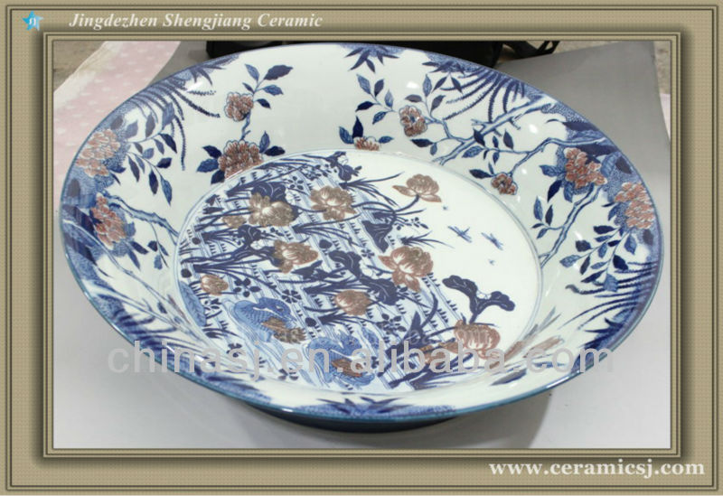 RYWU17 jingdezhen porcelain wall decorative plate