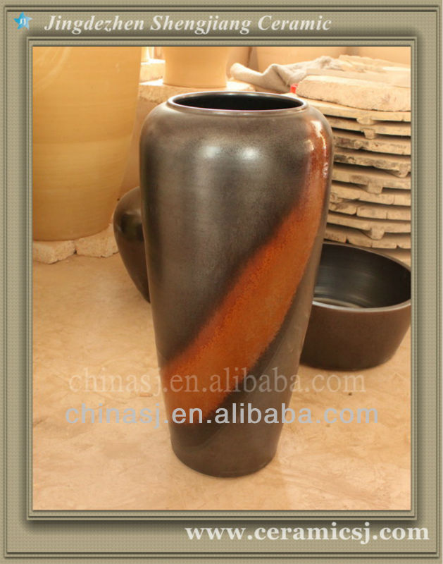 WRYWO06 Frost Proof Contemporary Ceramic Floor Tall Vases