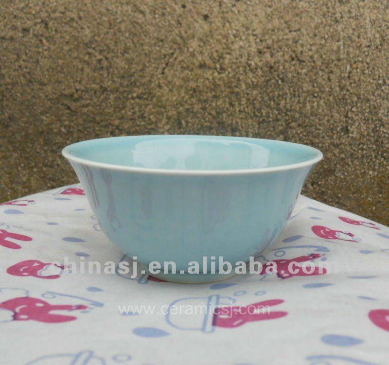 beautiful blue Glazed ceramic and porcelaun bowl WRYMA84