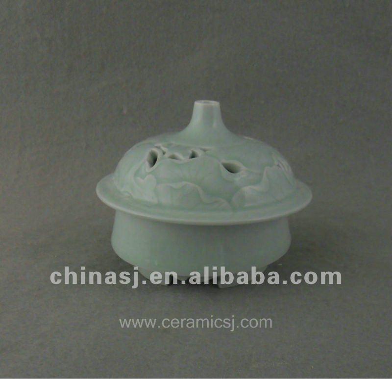 beautiful celadon ceramic Censer with unusual design WRYTZ01