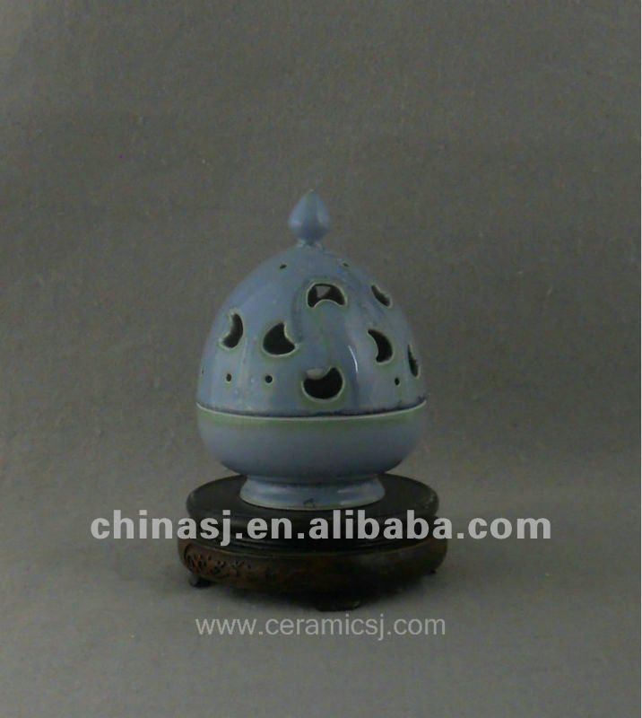 beautiful ceramic Censer with moon design WRYQN32