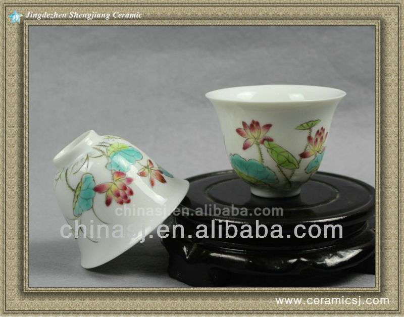 chinese Porcelain thin tea cup RYNY08