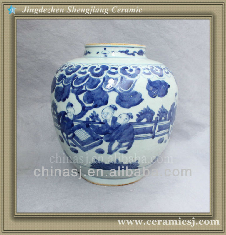 chinese blue and white porcelain flower vase RYVW04