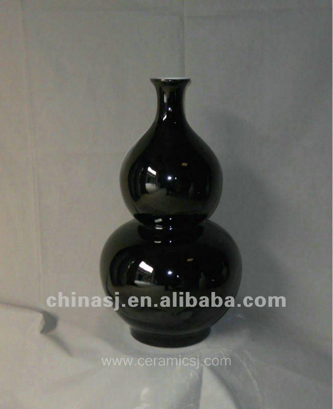 hand made black glaze ceramic Vase RYRJ04