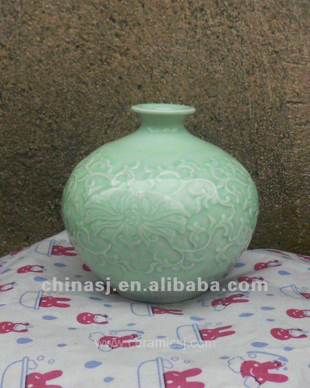 hand made celadon ceramic Vase WRYMA83