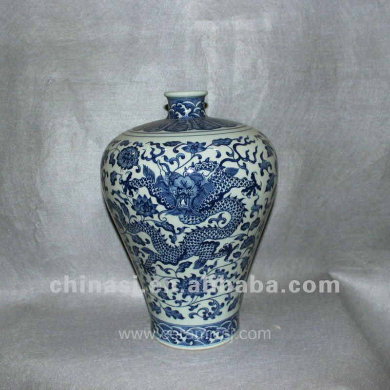 hand painted Blue and White Porcelain vase RYVD03