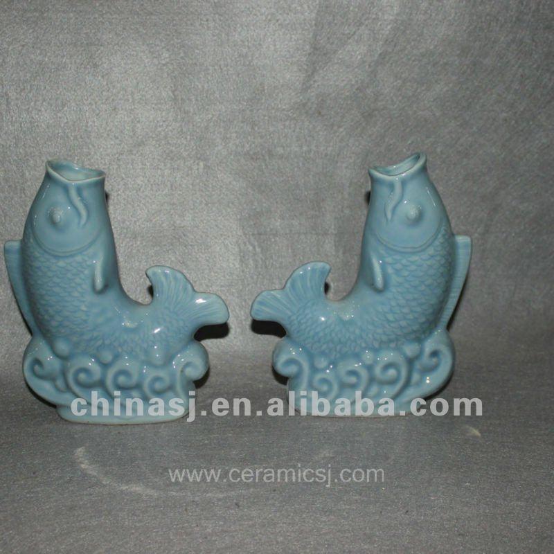 small fish ceramic figurine RYVE01