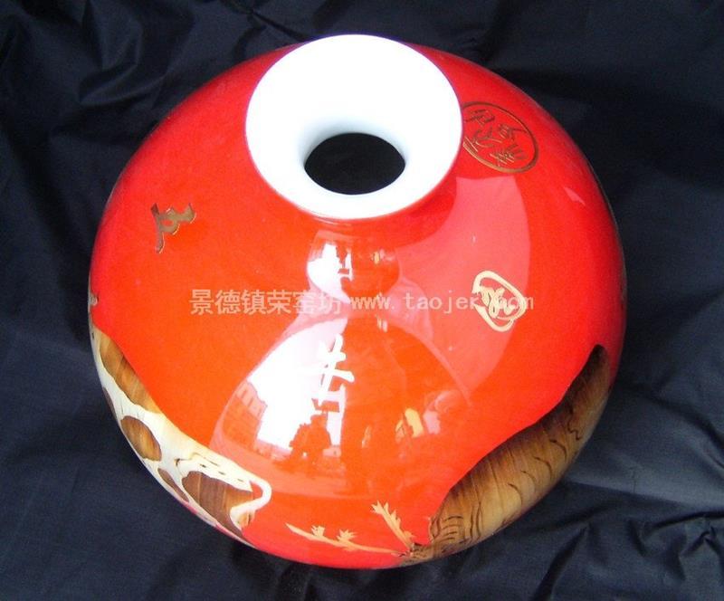 Home Decoration Ceramic Vase WRYCW5