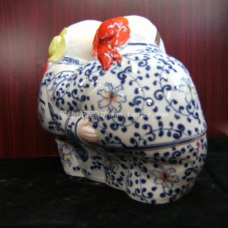 Fine ceramic figurine dancing couple WRYEQ20