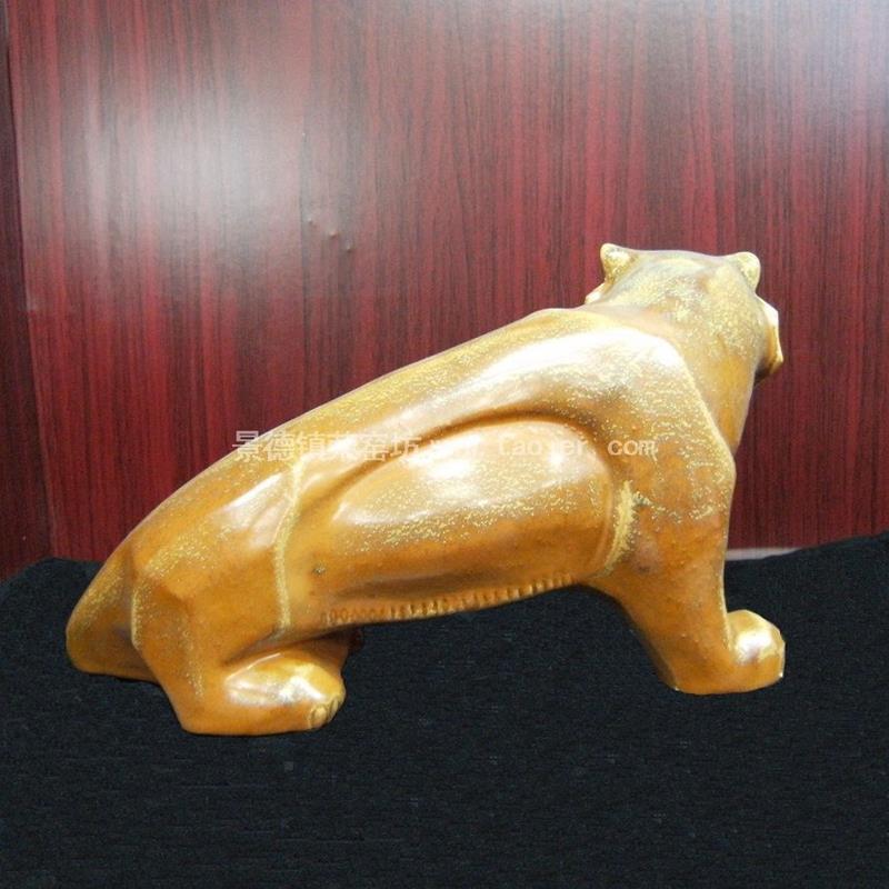 Ceramic tiger figurine WRYEQ27