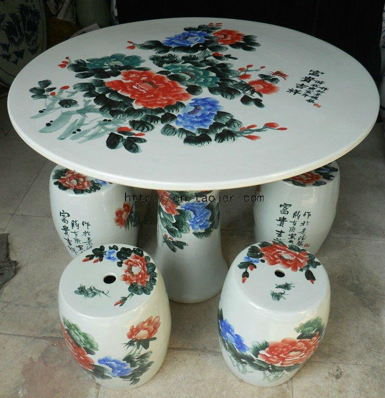 Ceramic Garden Table set