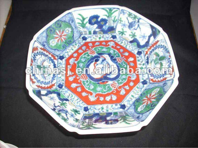 Chinese Antique Porcelain Plate RYAS47