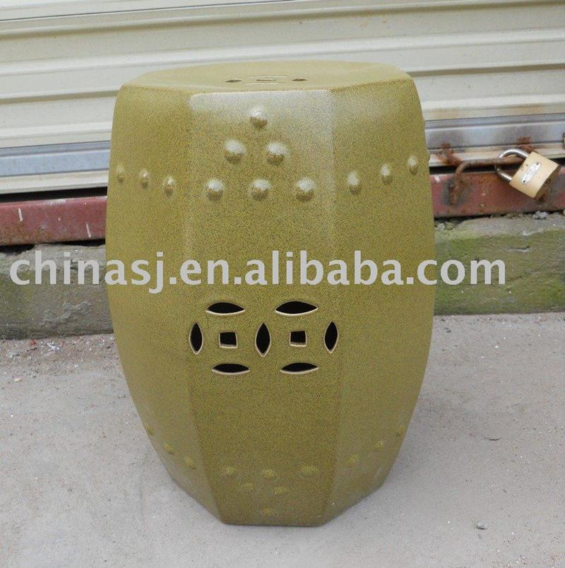 Ceramic Garden Stool Piercing WRYCN50