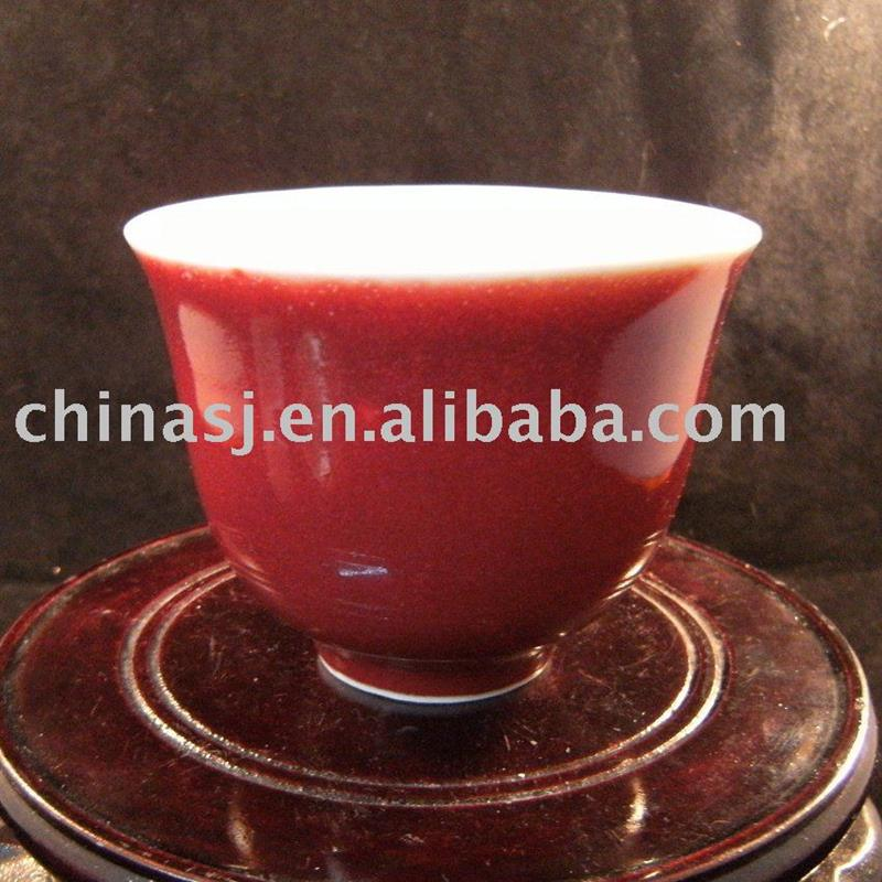 Ceramic cup RED WRYEI01