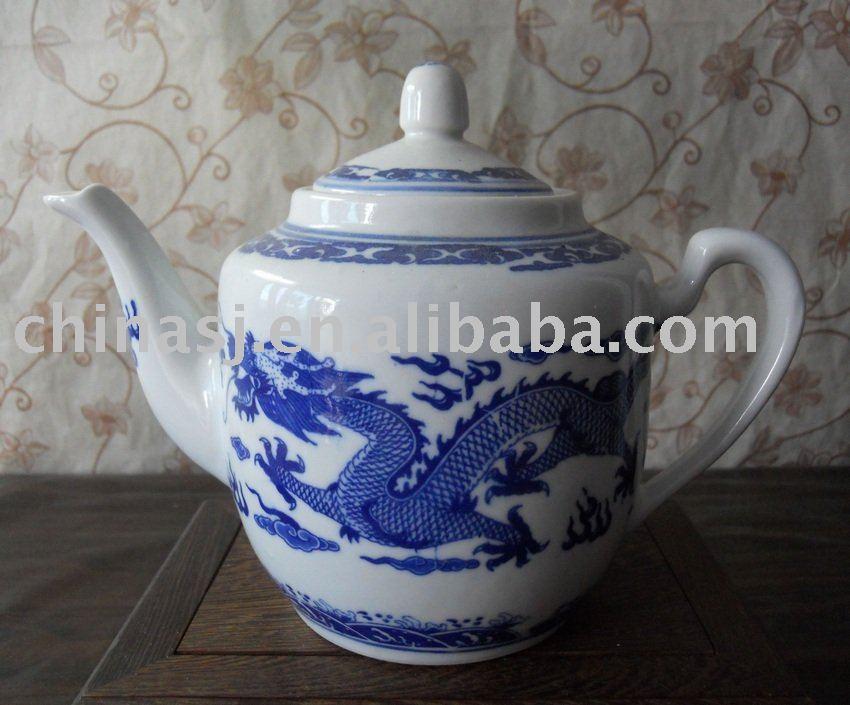 Chinese Traditional Dragon Porcelain tea pot WRYHU01