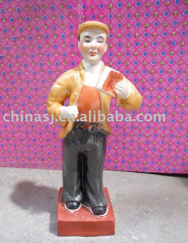 Culture Revolution Porcelain Statue WRYGU03