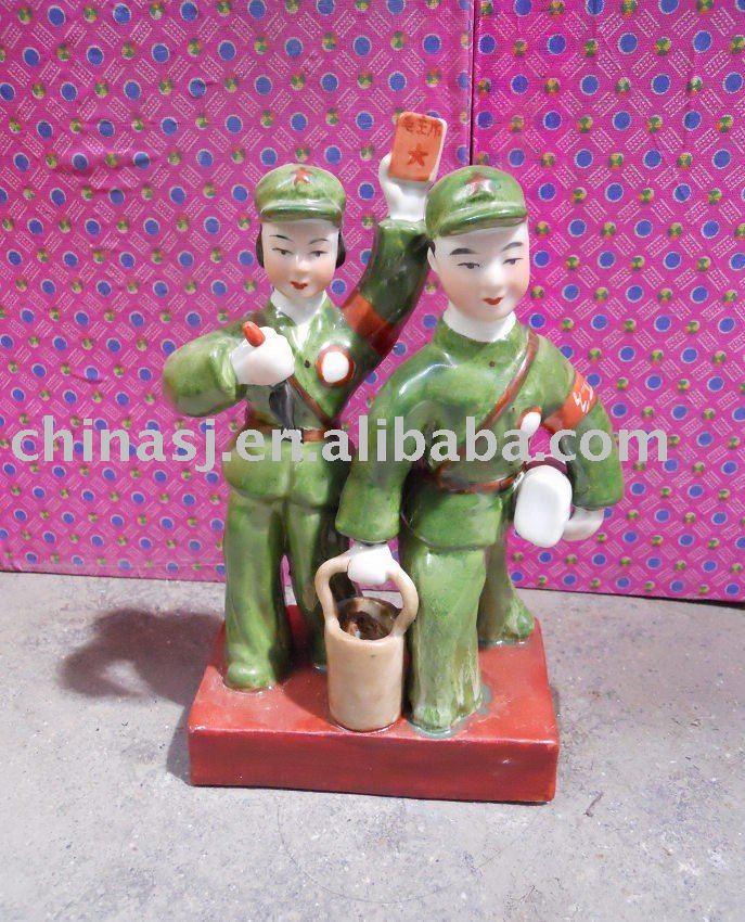 Culture Revolution Porcelain Statue WRYGU04