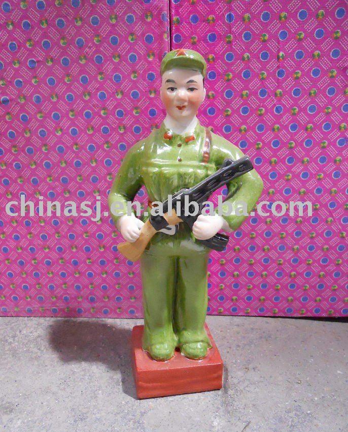 Culture Revolution Porcelain Statue WRYGU05