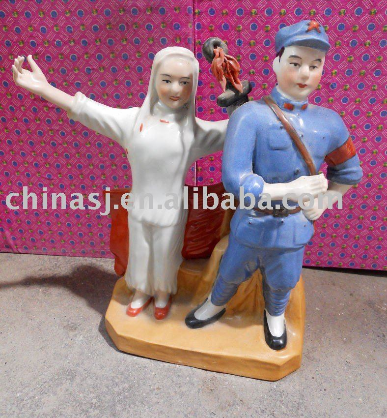 Culture Revolution Porcelain Statue WRYGU08