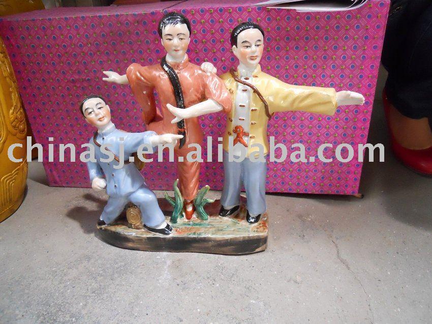 Culture Revolution Porcelain Statue WRYGU12