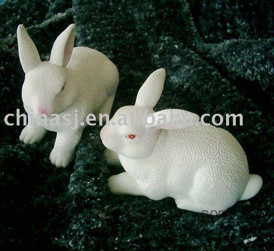 New Pairs of Rabbit Bunny Statue RYFL07