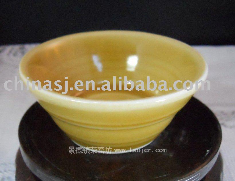 Porcelain Color Glazed Bowl Tea Cup RYGZ05