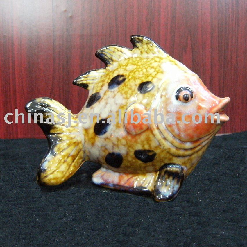 Porcelain Fish yellow WRYEQ11
