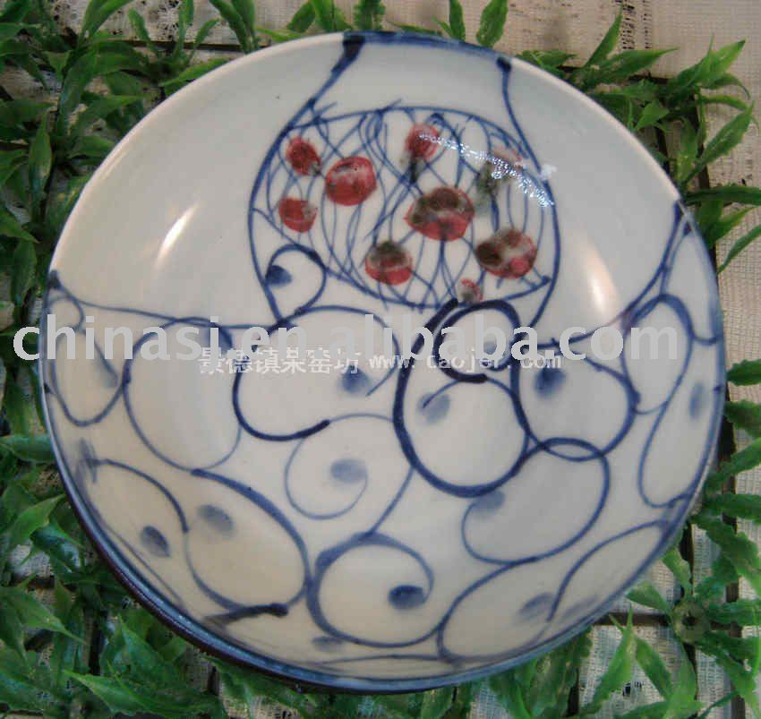 Porcelain Plate with nice patterns WRYEW12