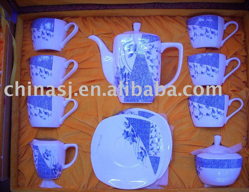 Tea set Coffee SET Service for 6 EXQUISITE